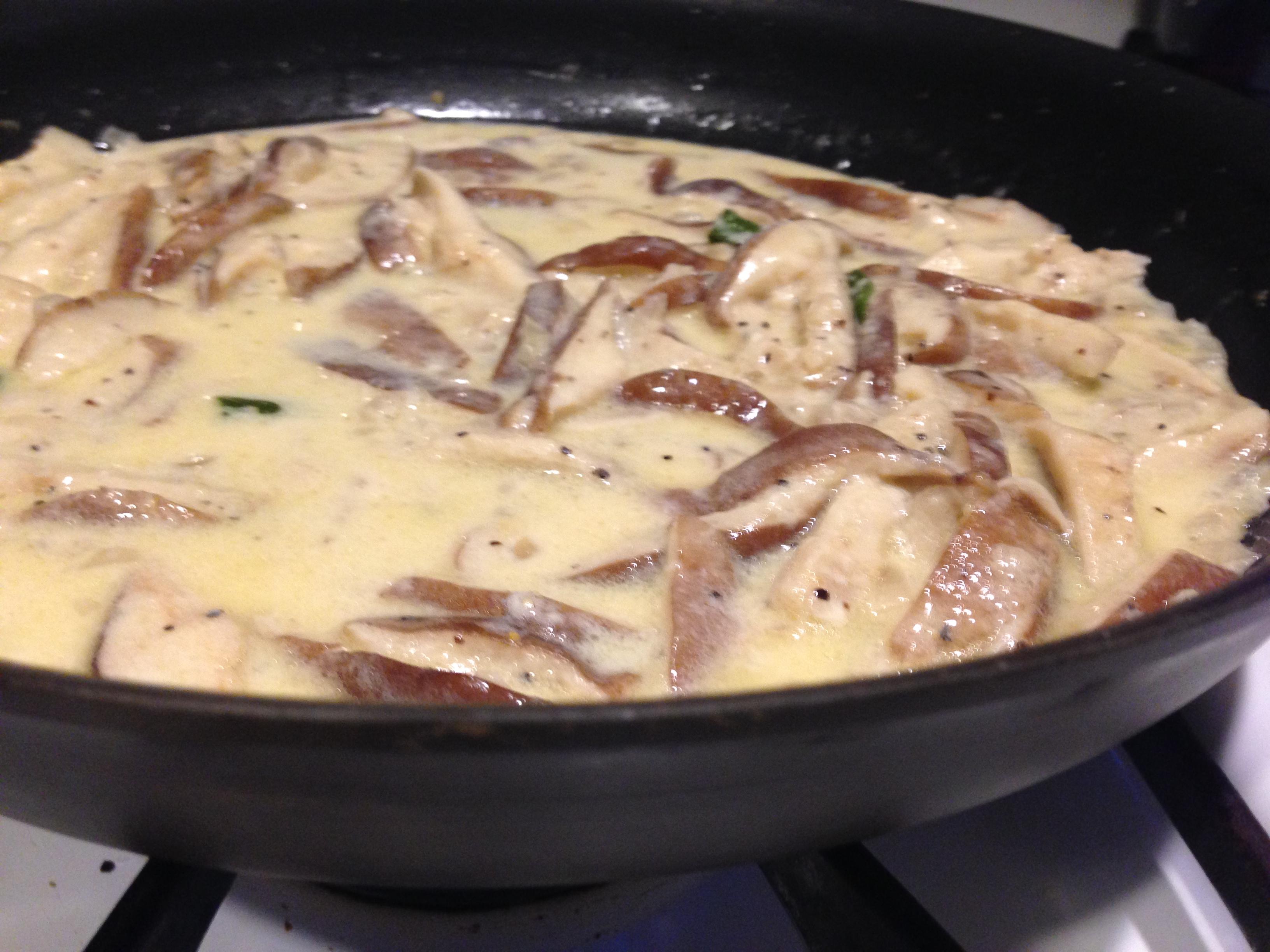 Pasta with shiitake mushroom recipes