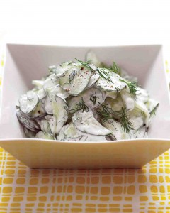 cucumber salad with sour cream and dill dressing_vert
