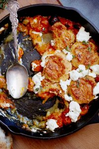 cherry-tomato-goat-cheese-cobbler